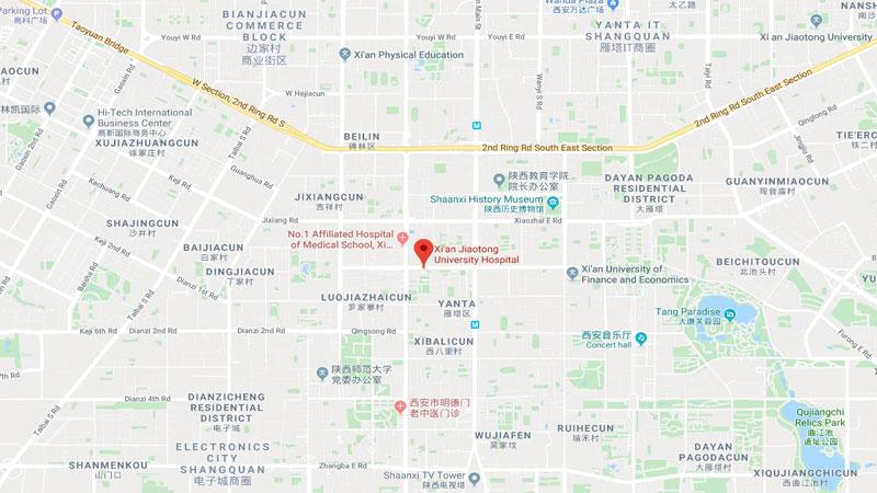 xian jiaotong university map