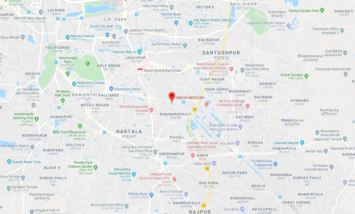 omkar medicom kolkata head office google map