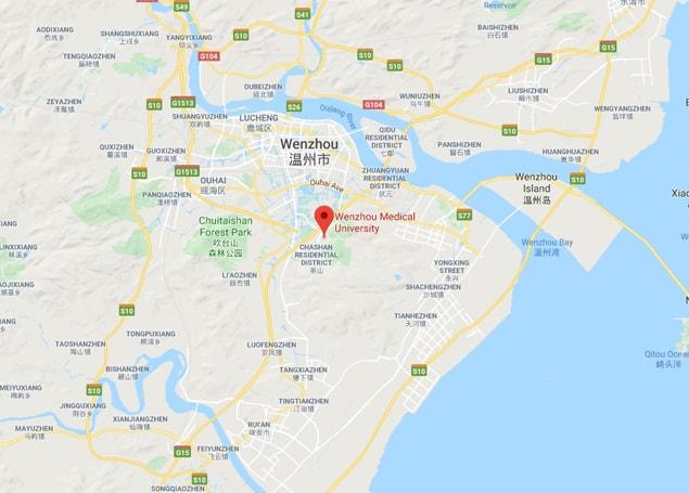 Wenzhou Medical University map