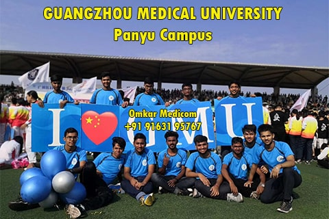 indian students in Guangzhou Medical University