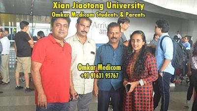Xian Jiaotong University Omkar Medicom students 027
