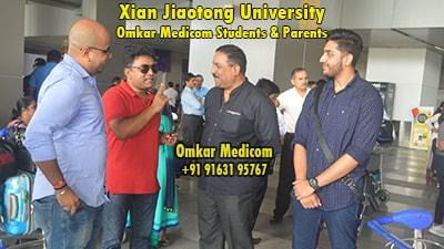Xian Jiaotong University Omkar Medicom students 030