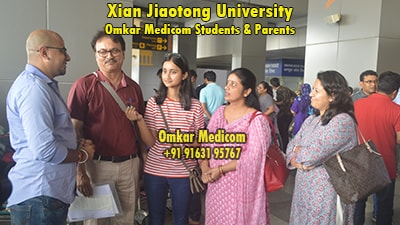 Xian Jiaotong University Omkar Medicom students 031