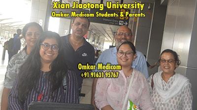 Xian Jiaotong University Omkar Medicom students 032