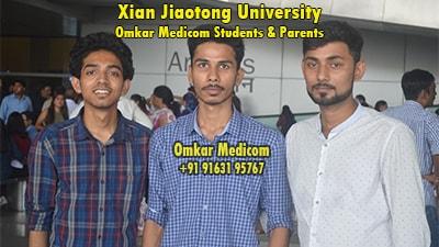 Xian Jiaotong University Omkar Medicom students 033