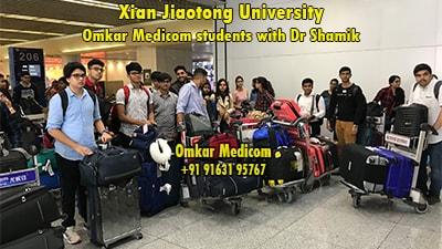 Xian Jiaotong University Omkar Medicom students 039