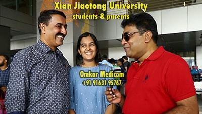 Xian Jiaotong University Omkar Medicom students 040
