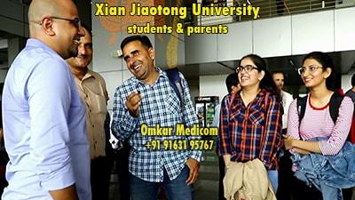 Xian Jiaotong University Omkar Medicom students 041